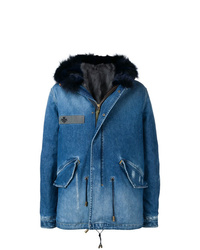 Parka azul de Mr & Mrs Italy