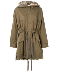 Parka marrón de Stella McCartney