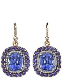 Pendientes Azules de Irene Neuwirth
