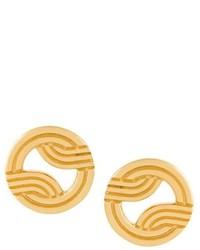 Pendientes dorados de Lara Bohinc