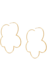 Pendientes dorados de Simone Rocha