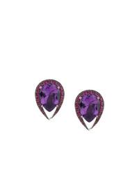 Pendientes en violeta de Shaun Leane