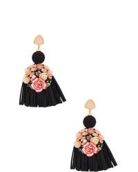 Pendientes negros de Lizzie Fortunato Jewels