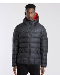 Plumífero Negro de Nike