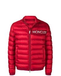 Plumífero rojo de Moncler