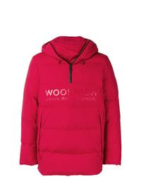 Plumífero rojo de Woolrich