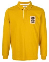 Polo de manga larga amarillo de Kent & Curwen