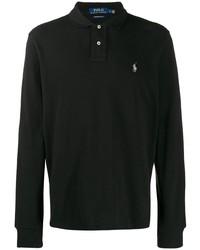 Polo de manga larga negro de Polo Ralph Lauren
