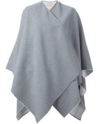 Poncho gris de Burberry