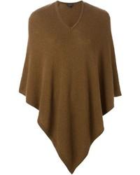 Poncho marrón de Etro
