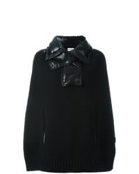 Poncho Negro de Moncler