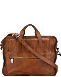 Portafolio de cuero marrón de Numero 10