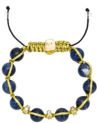 Pulsera con Adornos Azul Marino de Francesca Romana Diana