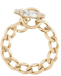 Pulsera dorada de Givenchy