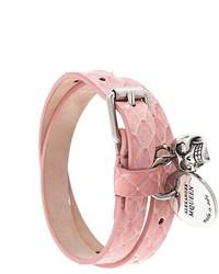 Pulsera rosada de Alexander McQueen