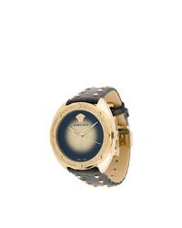 Reloj con adornos negro de Versace