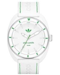 Reloj de Cuero Blanco