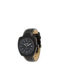 Reloj de cuero negro de Baldinini