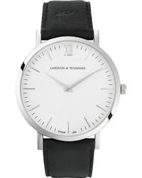 Reloj de Cuero Negro de Larsson & Jennings