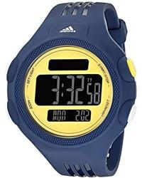 Reloj de goma azul marino de adidas