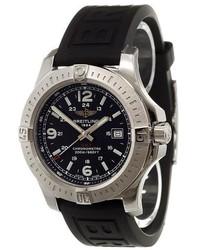 Reloj de goma negro de Breitling