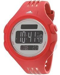 Reloj de goma rojo de adidas
