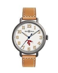 Reloj en beige