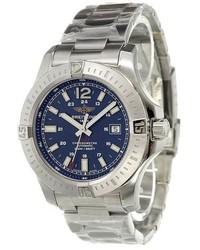 Reloj gris de Breitling