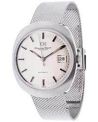 Reloj Plateado de IWC