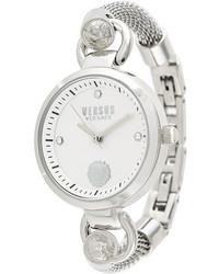 Reloj plateado de Versus
