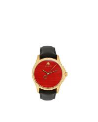 Reloj Rojo y Negro de Gucci