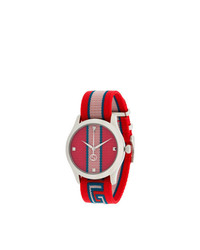 Reloj rojo de Gucci