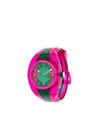 Reloj rosa de Gucci