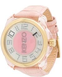 Reloj rosado de Kenzo