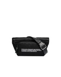 Riñonera de cuero negra de Calvin Klein 205W39nyc
