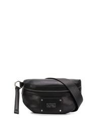 Riñonera de cuero negra de Givenchy