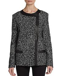 Ropa de abrigo en negro y blanco