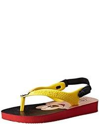 Sandalias amarillas de Havaianas