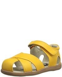 Sandalias amarillas de See Kai Run