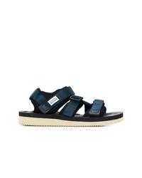 Sandalias azul marino de Suicoke