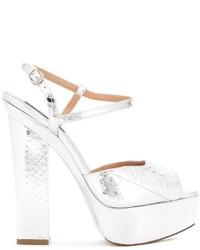 Sandalias blancas de Dsquared2