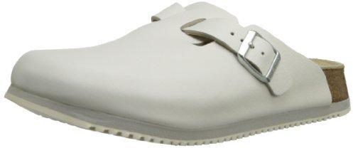 Sandalias de cuero blancas de Birkenstock Professional