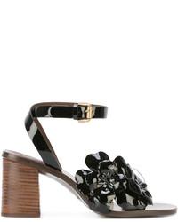 Sandalias de cuero con adornos negras de See by Chloe