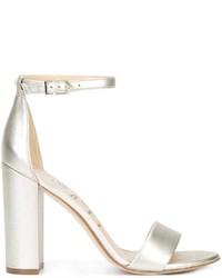 Sandalias de cuero doradas de Sam Edelman