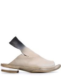 Sandalias de cuero grises de Officine Creative