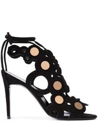 Sandalias de cuero negras de Pierre Hardy