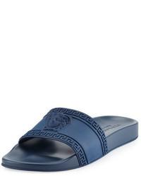 Sandalias de goma azules