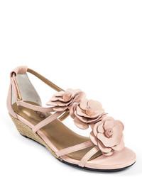 Sandalias en beige