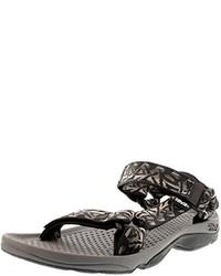 Sandalias en gris oscuro de Teva