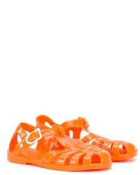 Sandalias naranjas de Armani Junior